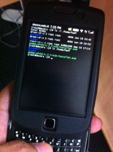 BBSsh - SSH Client for BlackBerry