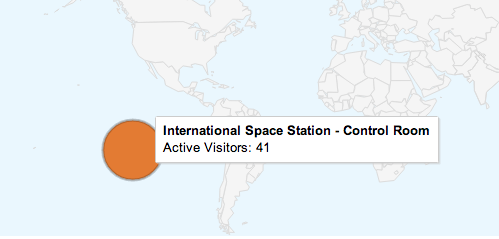 Google Analytics April Fools 2013