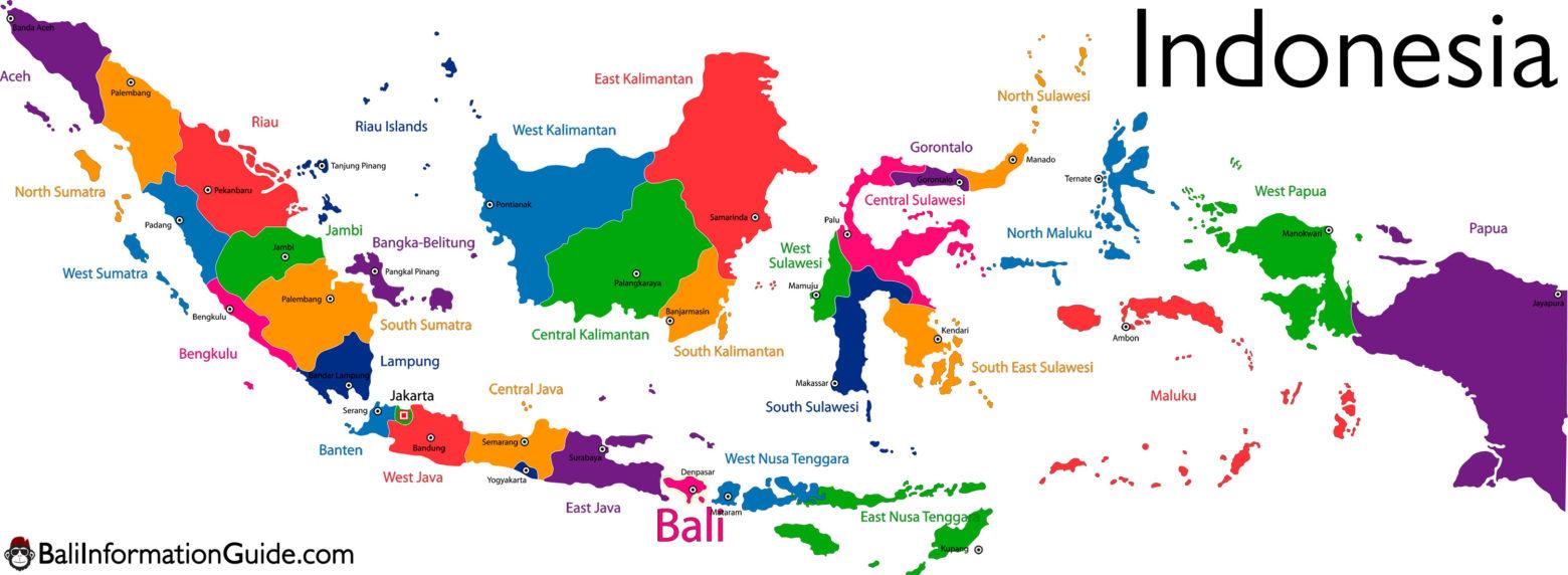 Daftar Provinsi, Kota/Kabupaten dan Kecamatan Seluruh Indonesia