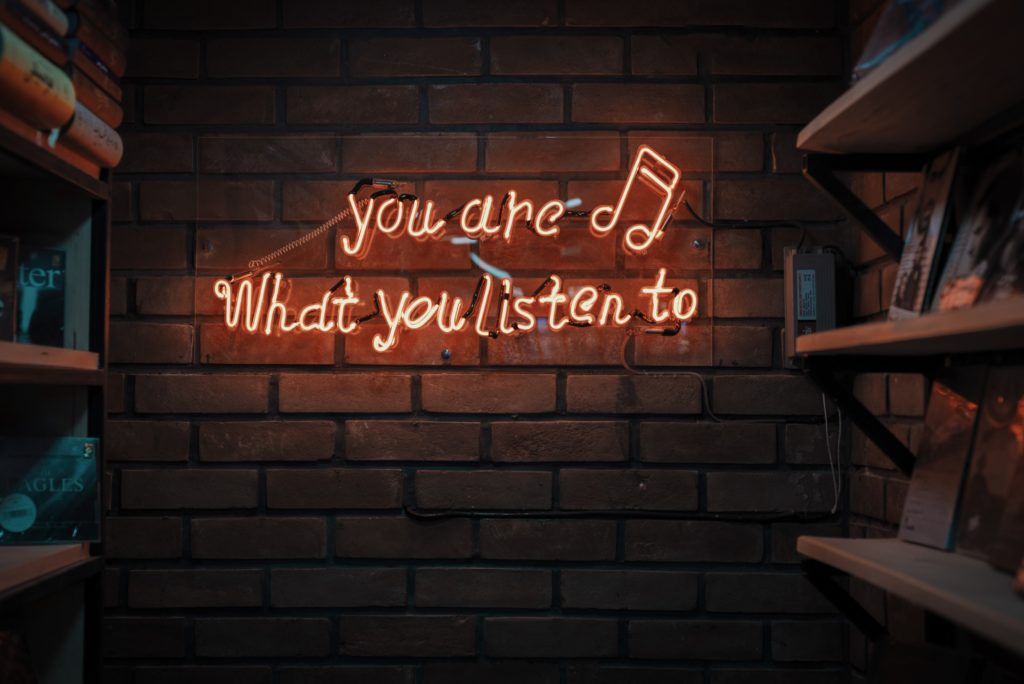 Dengerin Podcast - You are what you listen to